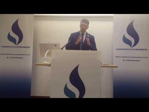 Scott Mann MP at Conservative Progress Conference 2017