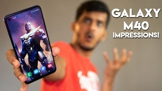 SAMSUNG GALAXY M40 Impressions after 48 hours! With beasty Snapdragon 675!