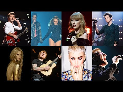 Top 20 Greatest Concert Tours of 2018