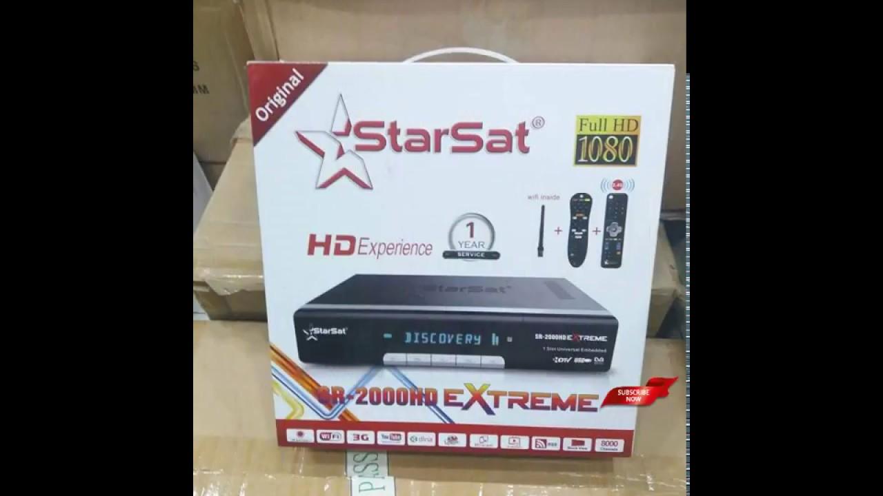Starsat SR 2000HD Extreme 4K Digital Satellite Receiver Review 2018  /hindi/urdu