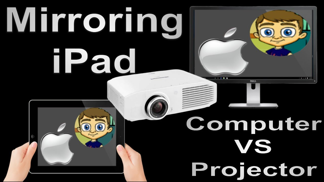 How do you hook up ipad to projector
