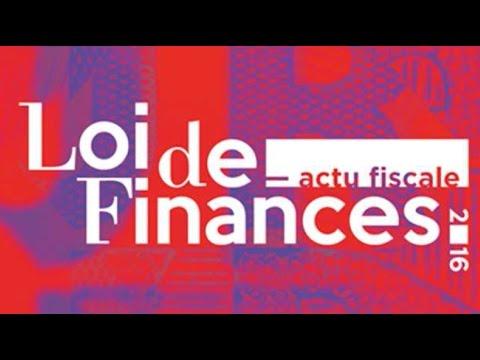 Présentation de la loi de finances 2016
