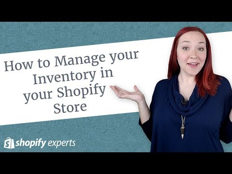 How to Manage your Inventory in Shopify