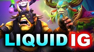 LIQUID vs IG - 100% PUSH STRAT - #TI8 THE INTERNATIONAL 2018 DOTA 2