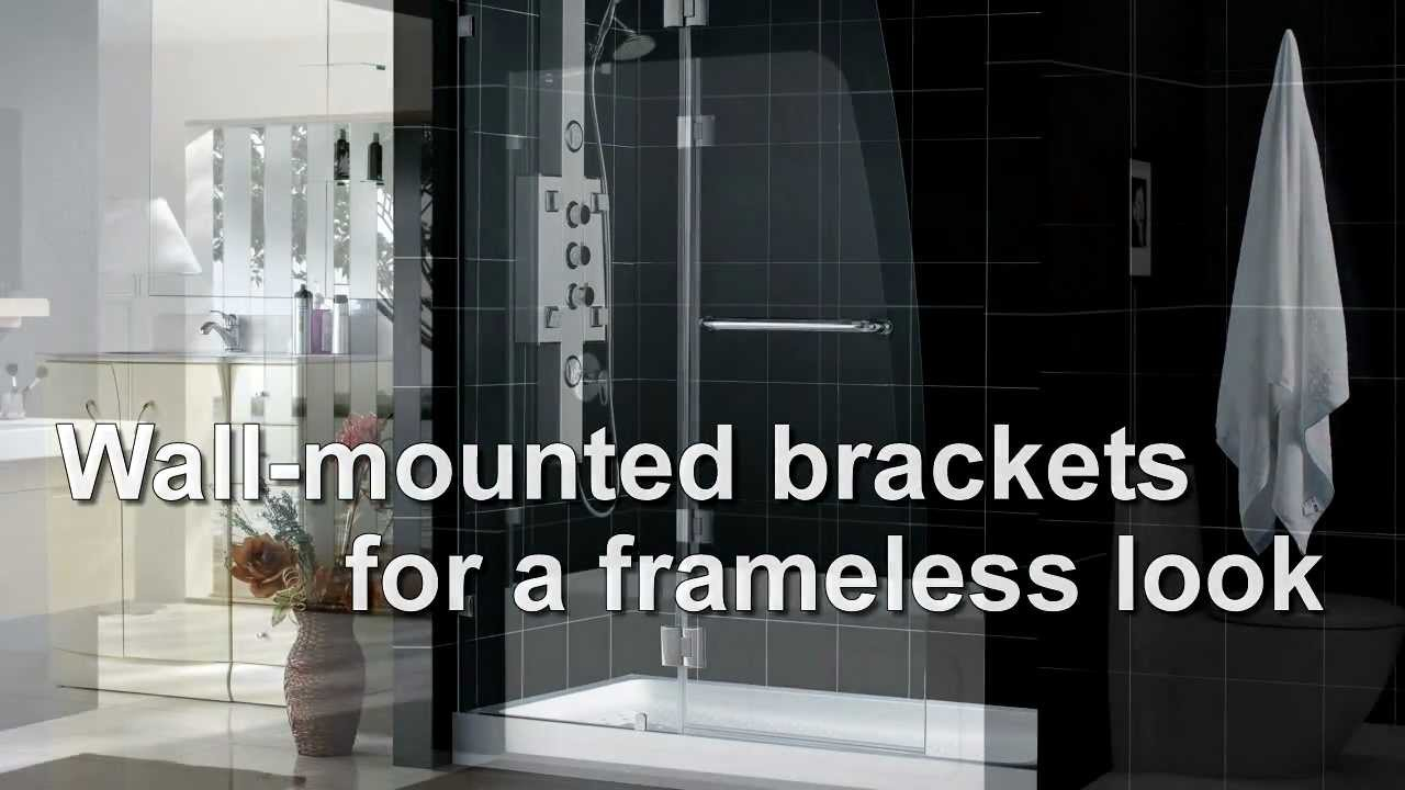 DreamLine Showers. AQUA Shower Doors Collection. Frameless Shower ...