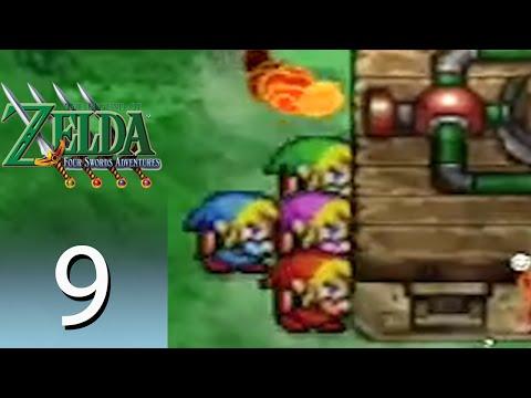 The Legend of Zelda: Four Swords Adventures – Episode 9: Death Mountain Foothills