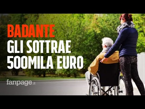 Badante fa credere ad anziano di essere innamorata di lui, ma gli sottrae 500mila euro