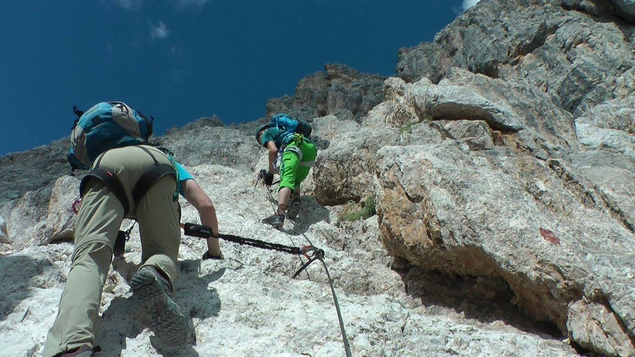 Klettersteig Rating : Dolomiten superferrata olivieri punta anna #1 klettersteig k5 d
