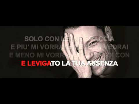 Tiziano Ferro - Sere Nere - Karaoke con testo