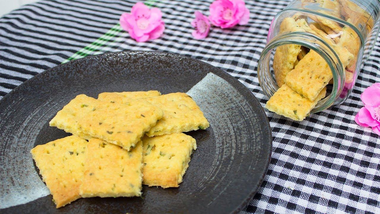 CÁCH LÀM BÁNH QUY MẶN ( BÁNH QUY AFC) NGON ĐƠN GIẢN NHẤT | Green Onion Butter Cookies - CKK
