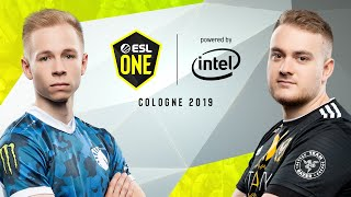 CS:GO - Team Liquid vs. Vitality [Overpass] Map 1 - Grand-Final - ESL One Cologne 2019