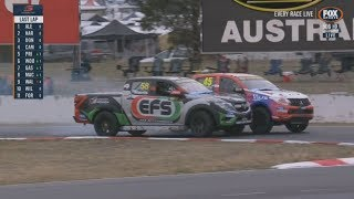 ECB SuperUtes Series 2018. Race 1 Winton Motor Raceway. Final Laps