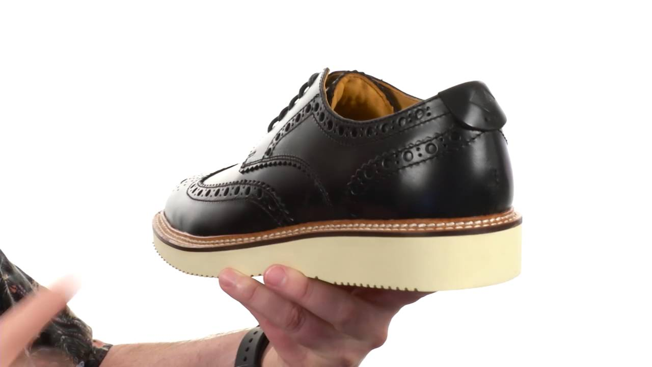 Gold Lug Wingtip Brogue Oxford Sperry hOkYHzMR