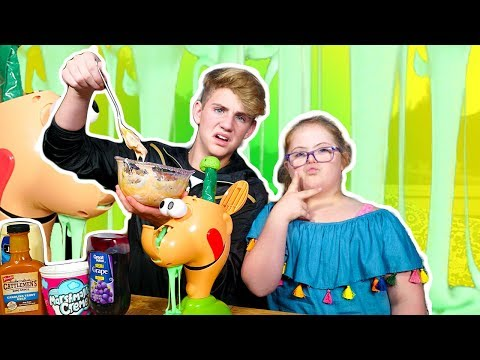 Thumbnail: GOOEY LOUIE with EXTRA SLIME!!! (MattyBRaps vs Sarah Grace)