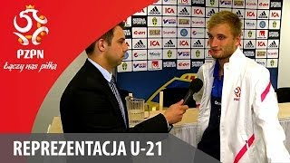 U-21: Kacper Przybyłko po meczu ze Szwecją