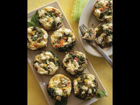 DETOX DIET RECIPE: Muffin Cup Veggie Omelets