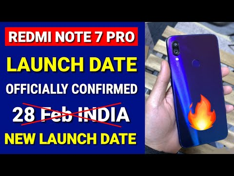 Redmi Note 7 Pro India launch Confirmed 28 feb officially | Redmi Note 7 Vs Note 7 Pro Difference Mp3