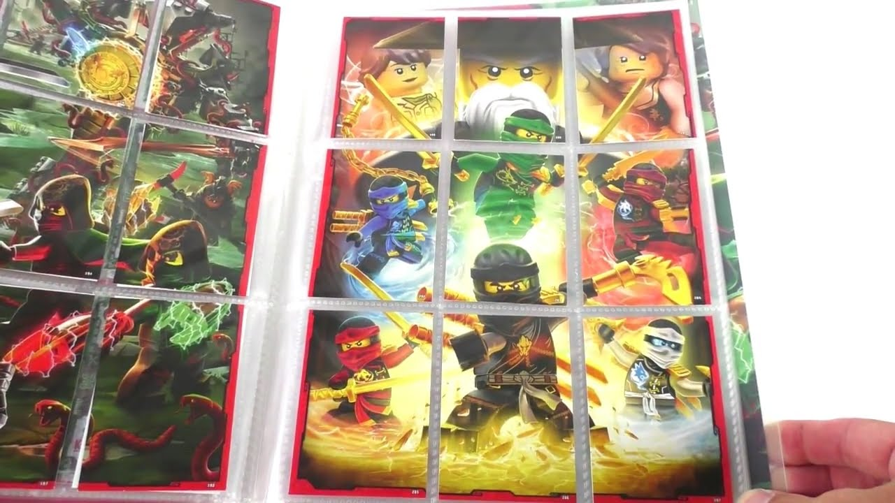 ninjago karten sammelheft amazon