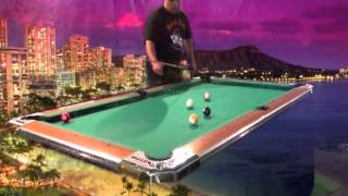 Rocket Rodney Morris in the Virtual Pool Hall