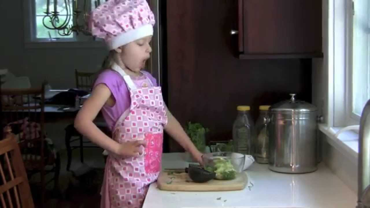 How To Make Guacamole   Ellau0027s Kids Cooking Channel