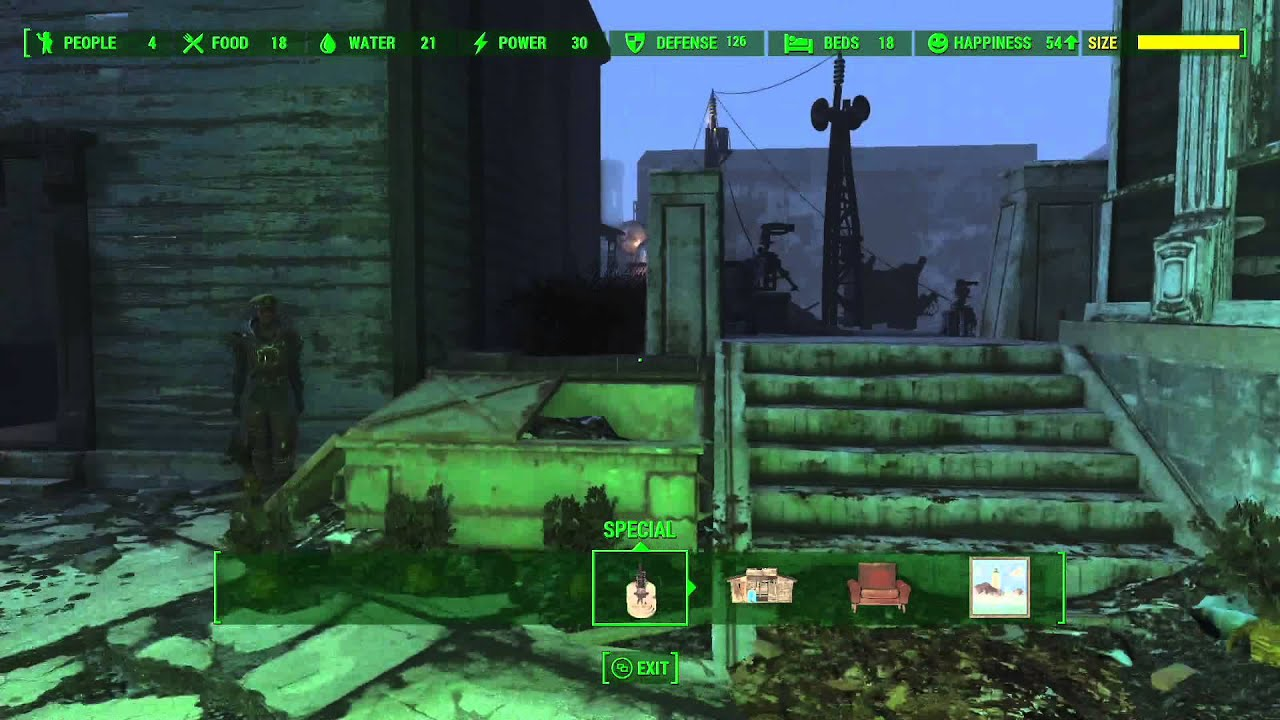 Fallout 4 jamaica plain workbench location
