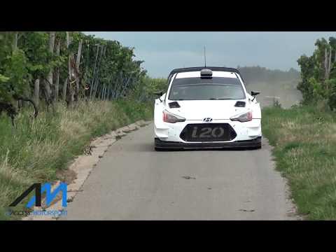 Deutschland Rally 2017, test Dani Sordo