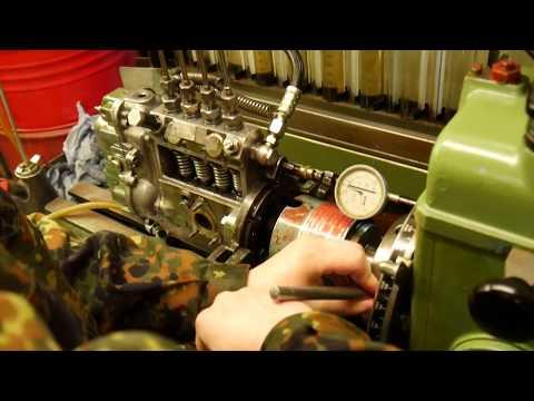 Bosch Einspritzpumpe Vorhub Einstellen   Bosch Injection Pump Pre Stroke Adjustment