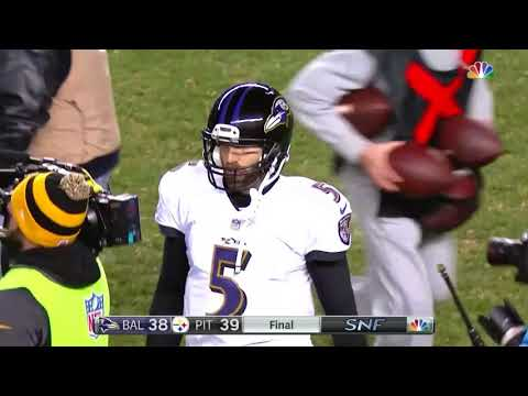 Ravens Don't Realize The Clock is Running After A Strip Sack and Lose The Game | NFL
