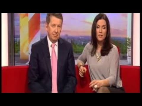Susanna Reid Sexy Short Dress Opaque Tights With Carol Kirkwood Bonus May - 1