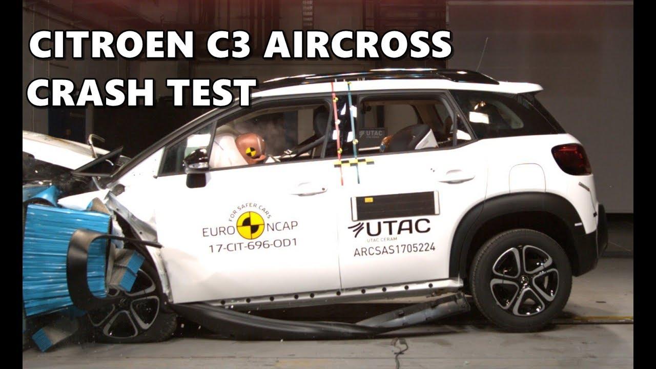 2018 citroen c3 aircross crash test safety rating ncap. Black Bedroom Furniture Sets. Home Design Ideas