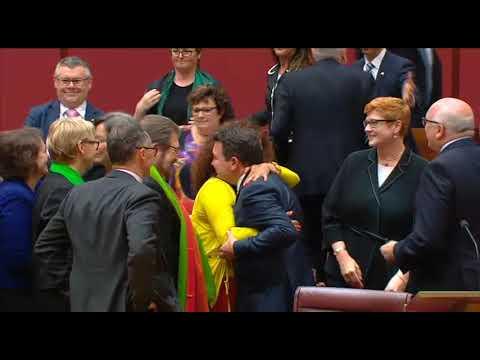 Australian Senate Votes to Legalise Same-Sex Marriage