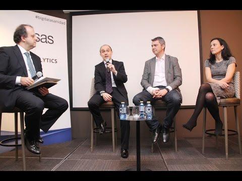 Executive Forum: Big Data Healthcare: Ana Moreno, Cesar Alonso, Gontzal Vallejo y César Chiva