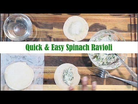 Quick & Easy Vegan Spinach Ravioli || Vegan Recipe Ep. 34 || Steffanie's Journey