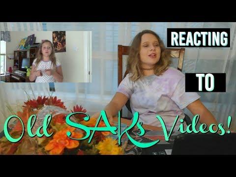 Reacting To Old SAKs Videos! | Anya Andrea