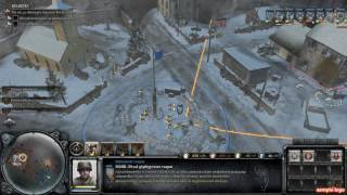 Company of Heroes 2: Master Collection Ardennes Assault Mission 1--HUN gameplay