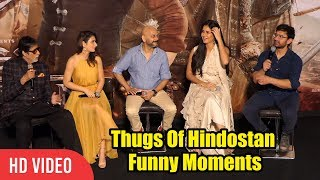 Thugs Of Hindostan Funny Moments | Amitabh Bachchan | Aamir Khan