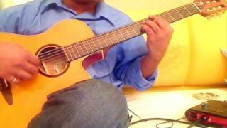 Chand Sifarish - Fanaa - Guitar Solo Arrangement
