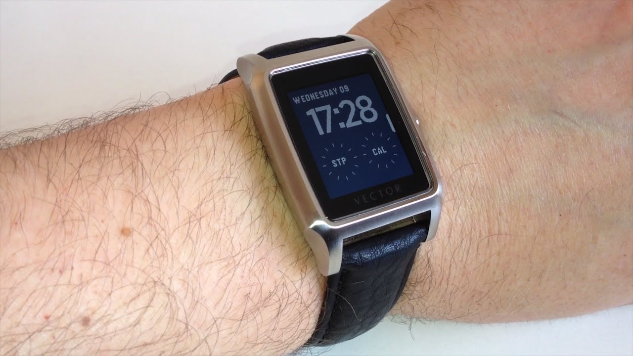 Vector Contemporary Meridian Smartwatch Review - YouTube cef0fe8615