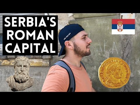 I Went To An Ancient Roman Capital | SHOCKER ; It's in Serbia