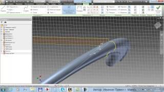 Проектирование маховика в 3D (autodesk inventor)