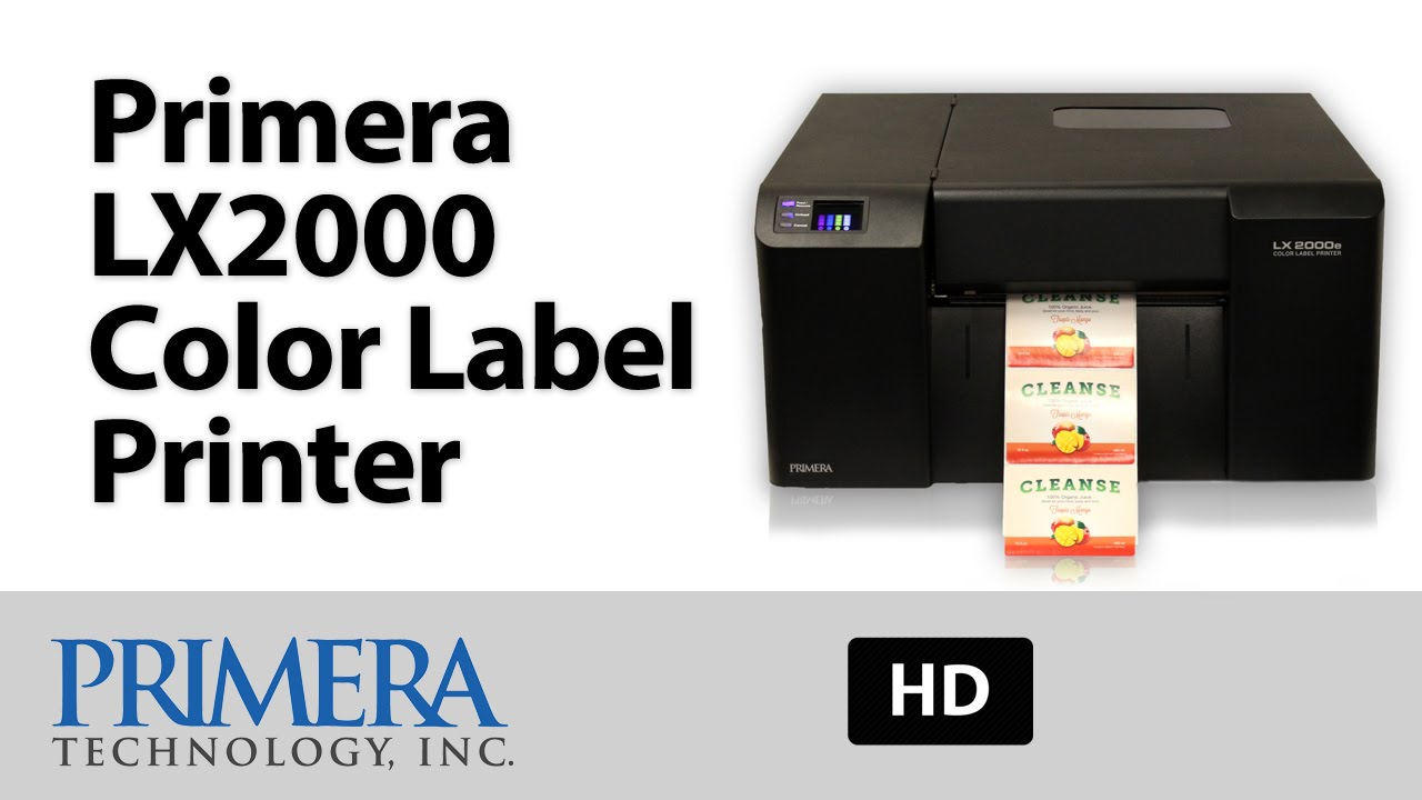 It's just a picture of Monster Primera Color Label Printer Lx500