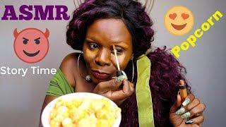 Popcorn/Hot Sauce ASMR Makeup Storytime 😱