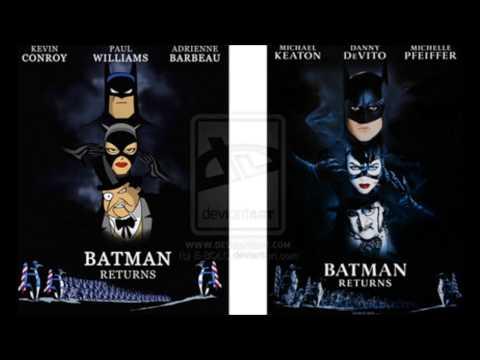 "Batman Returns (1992): ['BAT: TAS']: Complete Score: # 5./4.) ""Intro""*/""The Zoo""*/""The Lair."" - [HD]"