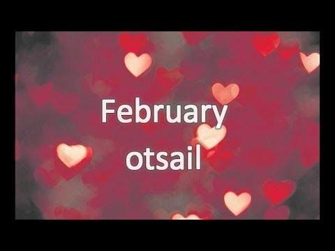 Months Hilabete | English Basque | Ingelera Euskara