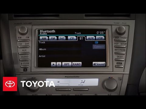 2011 Camry Hybrid How-To: Bluetooth® Music Streaming | Toyota