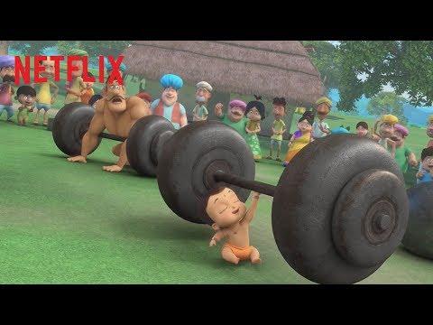 Mighty Little Bheem 🏋️ NEW Series Trailer   Netflix Jr