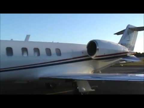 A Flight on a Lear Jet 45