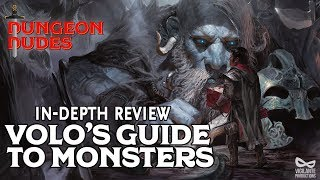 Volo's Guide to Monsters Review - D&D 5e Books