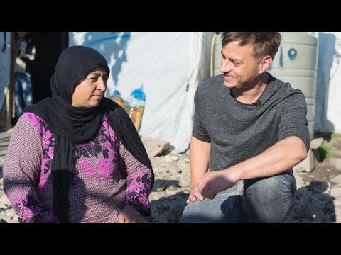 Tom Wlaschiha in Lebanon: Helping refugees build a future