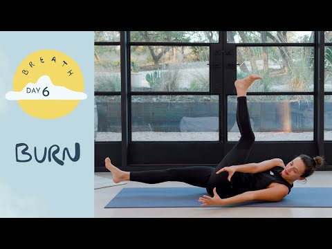 Day 6 - Burn | BREATH - A 30 Day Yoga Journey - Yoga With Adriene